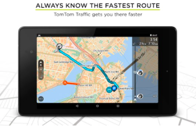 TomTom GPS Navigation Traffic Mod APK