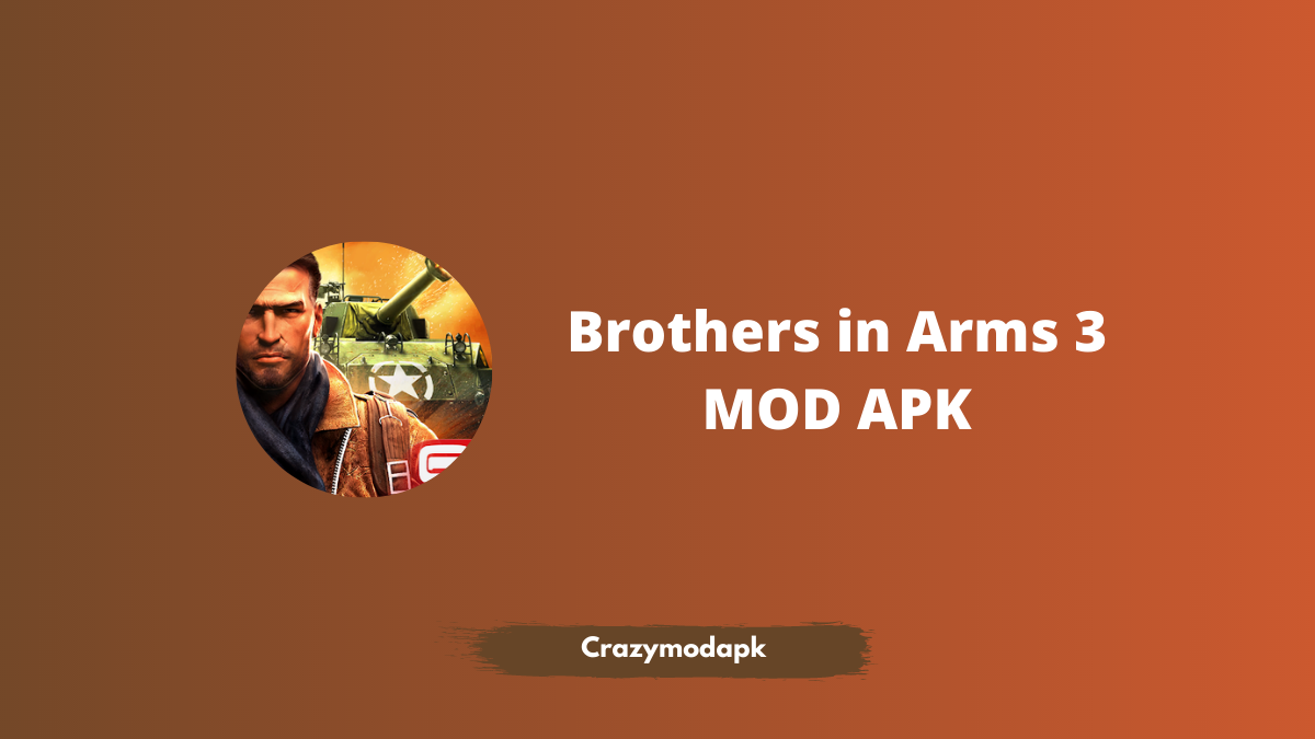 Brothers in Arms 3 MOD APK Download 1.5.1a (Free Shopping) icon